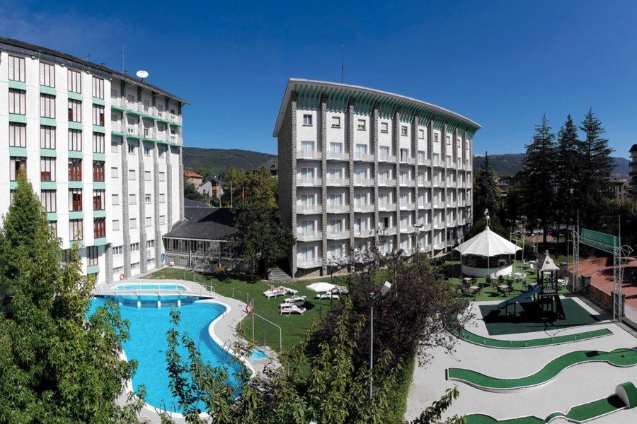 Recuperar el espíritu original del Gran Hotel de Jaca