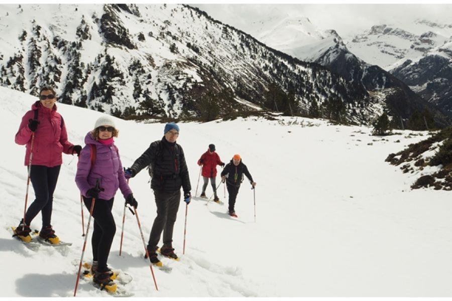 Raquetas de nieve con Aragón Aventura