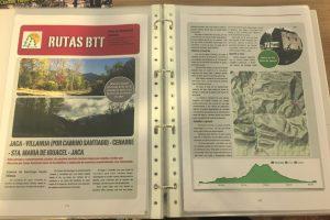 manual rutas btt y seguridad en la montaña