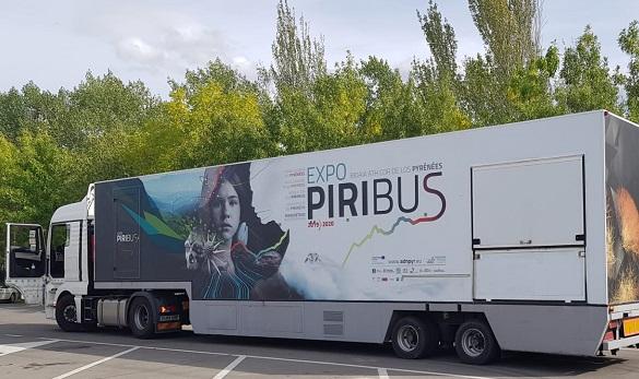 Exposición PIRIBUS en Jaca