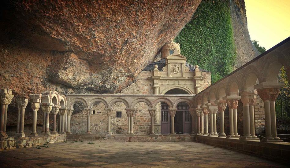 Claustro románico