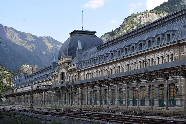 Estación Internacional de Canfranc
