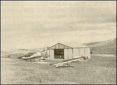 Hangar de Vuelo sin Motor. La Marañosa 1935. Fuente: Parque Lineal