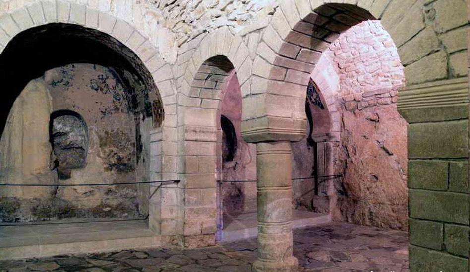 Iglesia prerrománica o iglesia baja