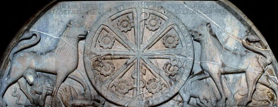 Crismón Catedral de San Pedro de jaca