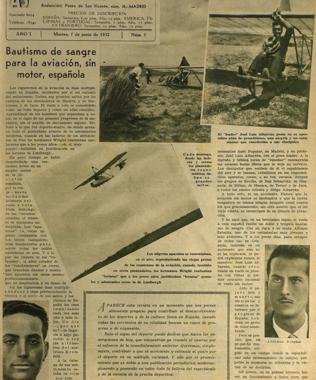 José Luis Albarrán en la prensa