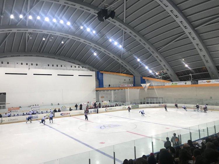 Pabellón de hielo de Jaca