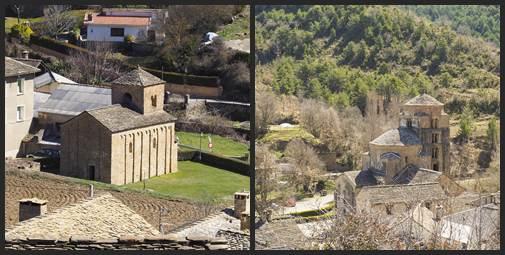 Iglesia de San Caprasio. Torre de Santa María