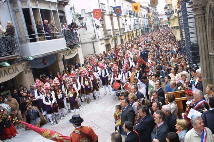 Recorrido Fiesta del Primer Viernes de Mayo en Jaca