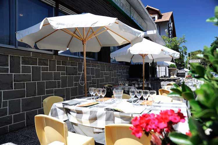 Restaurante Trattoria El Parque - Terraza