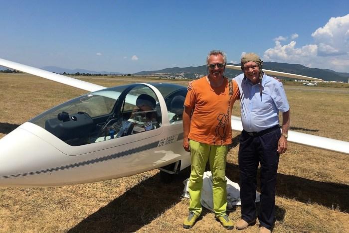 Vuelo Aeroclub Nimbus. Fuente: Aeroclub Nimbus